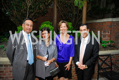 Husain Haqqani,Farah Ispahani,Kati Marton,Vali Nasr,A Reception for Vali Nasr,April 19,2012,Kyle Samperton