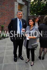 Shuja Nawaz, Farah Ispahaini,A Reception for Vali Nasr,April 19,2012,Kyle Samperton