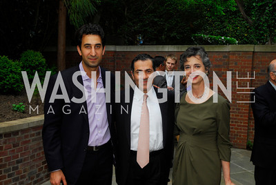 Karim Sadjadpour,Vali Nasr,, Barbara Slavin,A Reception for Vali Nasr,April 19,2012,Kyle Samperton