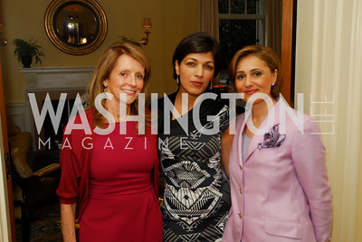 Maureen White,Rina Amari,Darya Nasr,A Reception for Vali Nasr,April 19,2012,Kyle Samperton