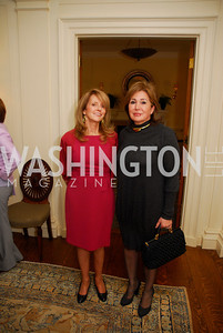 Maureen White, Maha Kadouri,A Reception for Vali Nasr,April 19,2012,Kyle Samperton