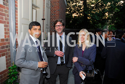Sajif Gandhi,John Dempsey,Missy Ryan,A Reception for Vali Nasr,April 19,2012,Kyle Samperton