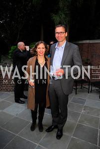 Valerie Hach,Clemmens Hach,A Reception for Vali Nasr,April 19,2012,Kyle Samperton