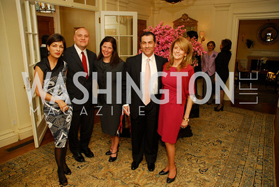Rina Amiri,Chris Lavine,Patti Hanley,Vali Nasr,Maureen White,A Reception for Vali Nasr,April 19,2012,Kyle Samperton
