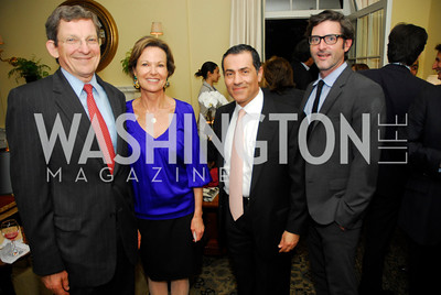 Amb.Marc Grossman,Kati Maton,Vali Nasr,John Dempsey,A Reception for Vali Nasr,April 19,2012,Kyle Samperton
