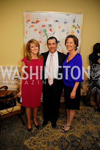 Maureen White,Vali Nasr,Kati Marton,A Reception for Vali Nasr,April 19,2012,Kyle Samperton