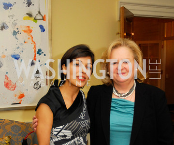 Rina Amari,Donna Dejban,A Reception for Vali Nasr,April 19,2012,Kyle Samperton