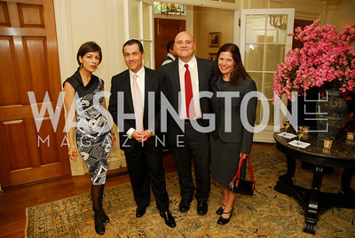 Rina Amari,Vali Nasr,ChrisLavine,Patti Hanley,A Reception for Vali Nasr,April 19,2012,Kyle Samperton