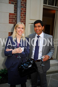 Missy Ryan, Sajif Gandhi,A Reception for Vali Nasr,April 19,2012,Kyle Samperton