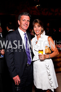 Kevin and Mary Anne Virostek. A Vintage Affair. Photo by Tony Powell. Embassy of Italy. April 21, 2012