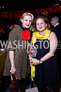 Christine Warnke, Beth Mendelson. A Vintage Affair. Photo by Tony Powell. Embassy of Italy. April 21, 2012