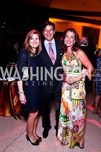 Anna Garabaldi, Scott and Jennifer Gillum. A Vintage Affair. Photo by Tony Powell. Embassy of Italy. April 21, 2012
