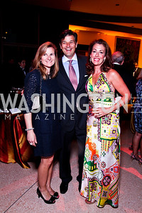 Anna Garabaldi, Scott and Jennifer Gillum. A Vintage Affair. Photo by Tony Powell. Embassy of Italy. April 21, 2012