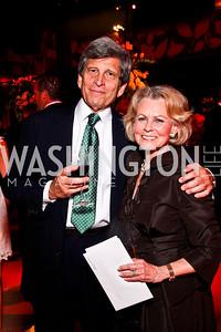 Steve and Diana Goldberg. A Vintage Affair. Photo by Tony Powell. Embassy of Italy. April 21, 2012