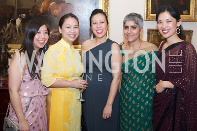 Kale Moraras, Tuyet Quong, Karen Chaves, Kiran Ahuja, Miya Chen.  White House Initiateive on Asian Americans and Pacific Islanders.  Asian Pacific American Institute for Congressional Studies (APAICS) .  This 18th Annual Gala Awards was the largest yet, thanks in part to the White House Initiative on Asian Americans and Pacific Islanders.  President Obama spoke.  Photo by Ben Droz.