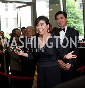Congresswoman Judy Chu and Jim Park. Asian Pacific American Institute for Congressional Studies (APAICS) .  This 18th Annual Gala Awards was the largest yet, thanks in part to the White House Initiative on Asian Americans and Pacific Islanders.  President Obama spoke.  Photo by Ben Droz.