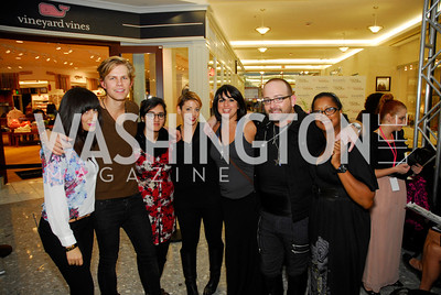 Nadine Mater,Winston Thompson, Ammara Rana ,Allison Brooke,Gina Robinson,JamesCromwell,Loretta Johnson,September 28,2012,All  Acess Fashion  VIP  Runway Show presented by  Intermix andTysons GalleriaKyle Samperton
