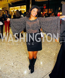 Gladys Abi-Najm,September 28,2012,All  Acess Fashion  VIP  Runway Show presented by  Intermix andTysons Galleria,Kyle Samperton
