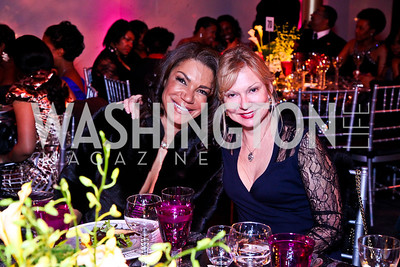 Ann Walker Marchant, Cheryl Masri. Alvin Ailey Gala. February 7, 2012. Photo by Tony Powell