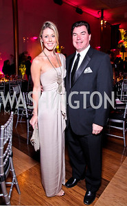 Ashley Patterson, Jerry Harrington. Alvin Ailey Gala. February 7, 2012. Photo by Tony Powell