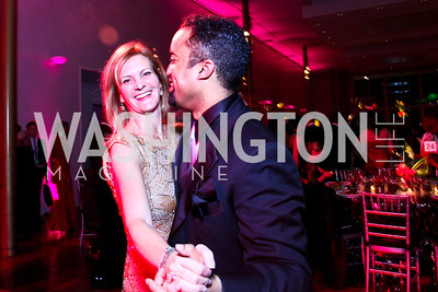 Katharine Weymouth, Post reporter Keith Alexander. Keith. Alvin Ailey Gala. February 7, 2012. Photo by Tony Powell