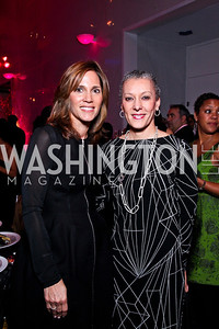 Hillary Baltimore, Sharon Malone. Alvin Ailey Gala. February 7, 2012. Photo by Tony Powell