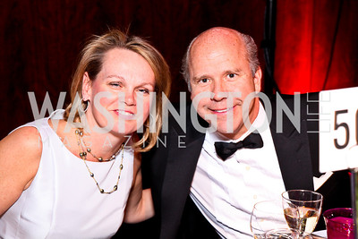 April and John Delaney. Alvin Ailey Gala. February 7, 2012. Photo by Tony Powell