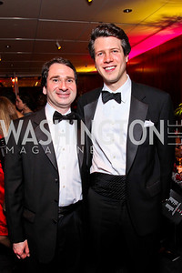 Rob Berretta, Mark Gillespie. Alvin Ailey Gala. February 7, 2012. Photo by Tony Powell
