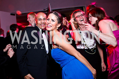 Kevin Roots, Wendy Castillo. Alvin Ailey Gala. February 7, 2012. Photo by Tony Powell