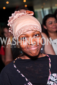 Zahra Abd'Allah. Alyse Nelson Vital Voices Book Party. Photo by Tony Powell. House of Sweden. June 5, 2012