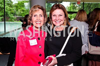 Former Reps. Connie Morella and Susan Molinari. Alyse Nelson Vital Voices Book Party. Photo by Tony Powell. House of Sweden. June 5, 2012