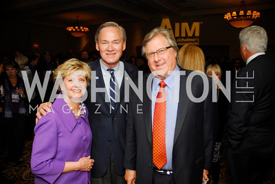 Stephanie Moore,Dennis Moore,Doug Stard,April 24,2012,Alzheimers Association National Dinner,Kyle Samperton
