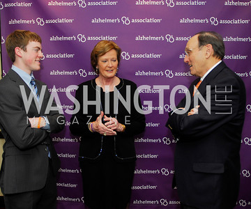 Tyler Summitt,Pat Summitt,Rep.Paul Roe,April 24,2012,Alzheimers Association National Dinner,Kyle Samperton