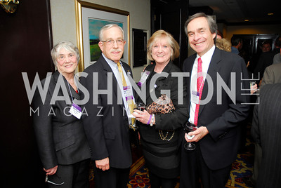 Phyllis Bravo,Ken Bravo,Bebbie Neale,Steve Osgood,,April 24,2012,Alzheimers Association National Dinner,Kyle Samperton
