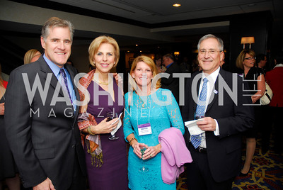 David Sullerman,Helen Link,Betsy Gofferman,Sandy Link.April 24,2012,Alzheimers Association National Dinner,Kyle Samperton