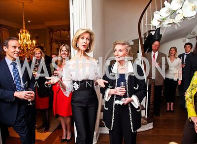 Bonnie McElveen Hunter, Wilhelmina Holladay. Bonnie McElveen Hunter Reception for the NMWA. Photo by Tony Powell. Aprl 26, 2012