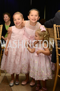 Stephanie, Lydia, and Alexis Pemberton, Rebecca Perberton in Background.  The Congressional Coalition on Adoption Institute hosts the annual Angels in Adoption Gala at the Ronald Reagan Building. Photo by Ben Droz.