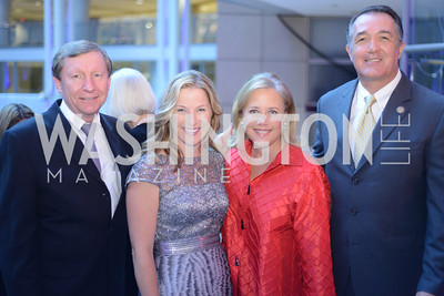 Jeffrey Rageth, Kathleen Strottman, Senator Mary Landrieu, Congressman Trent Franks, The Congressional Coalition on Adoption Institute hosts the annual Angels in Adoption Gala at the Ronald Reagan Building. Photo by Ben Droz.