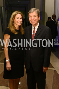 Senator Roy Blunt, and his wife Abigail Blunt.    The Congressional Coalition on Adoption Institute hosts the annual Angels in Adoption Gala at the Ronald Reagan Building. Photo by Ben Droz.