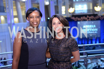 Lindsay Ellenbogen and Stephanie Cherry.  The Congressional Coalition on Adoption Institute hosts the annual Angels in Adoption Gala at the Ronald Reagan Building. Photo by Ben Droz.