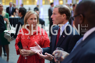 Senator Mary Landrieu and Senator Richard Blumenthal The Congressional Coalition on Adoption Institute hosts the annual Angels in Adoption Gala at the Ronald Reagan Building. Photo by Ben Droz.