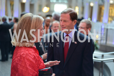 Senator Mary Landrieu and Senator Richard Blumenthal, The Congressional Coalition on Adoption Institute hosts the annual Angels in Adoption Gala at the Ronald Reagan Building. Photo by Ben Droz.