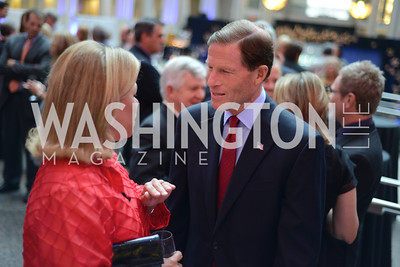 Senators Mary Landrieu and Richard Blumethal  The Congressional Coalition on Adoption Institute hosts the annual Angels in Adoption Gala at the Ronald Reagan Building. Photo by Ben Droz.