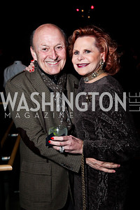 "Victor Shargai, Judy Lynne Prince. Photo by Tony Powell. Opening Night of ""My Fair Lady."" Arena Stage. November 15, 2012"