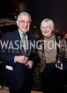 "Bill and Ruth Lubic. Photo by Tony Powell. Opening Night of ""My Fair Lady."" Arena Stage. November 15, 2012"