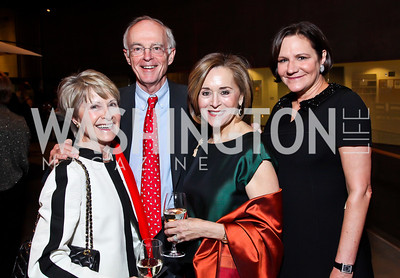 "Vickie and Ken Wilson, Michele Bermane, Andrea Weiswasser. Photo by Tony Powell. Opening Night of ""My Fair Lady."" Arena Stage. November 15, 2012"