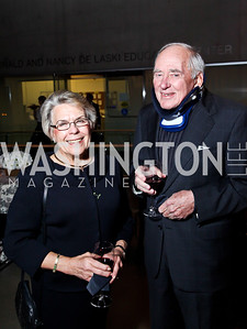 "Martha and Dick Ellison. Photo by Tony Powell. Opening Night of ""My Fair Lady."" Arena Stage. November 15, 2012"