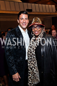 "Nicholas Rodriguez, E. Faye Butler. Photo by Tony Powell. Opening Night of ""My Fair Lady."" Arena Stage. November 15, 2012"