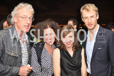 Jeremy Higginbotham, Julie Willard, Petra Schopers, Christian Braun, Hilda and Arturo Brillembourg host a cocktail reception to kick off Art Basel Miami. Wednesday, December 5, 2012. Photo by Ben Droz.