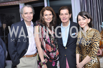 Hans Apostel, Victoria Cummosck, Edgar Batista, Joann Mason,  Hilda and Arturo Brillembourg host a cocktail reception to kick off Art Basel Miami. Wednesday, December 5, 2012. Photo by Ben Droz.